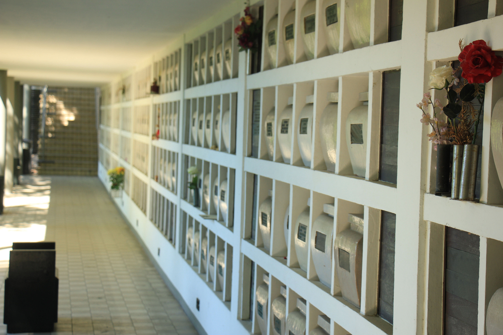 Columbarium at a Long Island cemetery