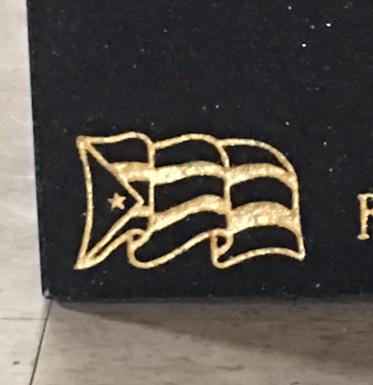 Puerto Rican Flag Emblem