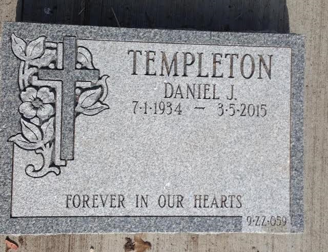 Add lettering or a name to an existing headstone