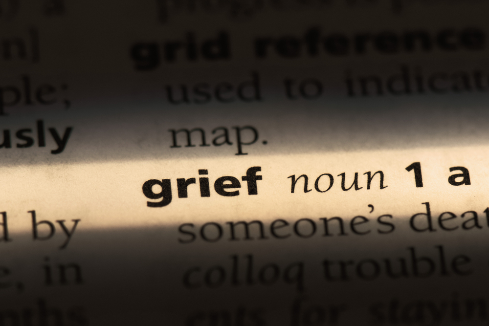 Grief,Word,In,A,Dictionary.,Grief,Concept